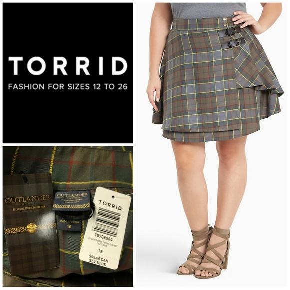 a5f62098a4 torrid Skirts | Outlander Fraser Tartan Plaid Skirt Sz 18 | Poshmark